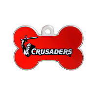 Crusaders Bone ID Tag