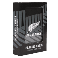 All Blacks Playing Cards