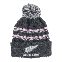 All Blacks Kids Cable Knit Pom Pom Beanie