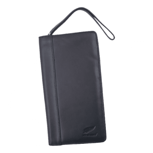 All Blacks Leather Travel Wallet