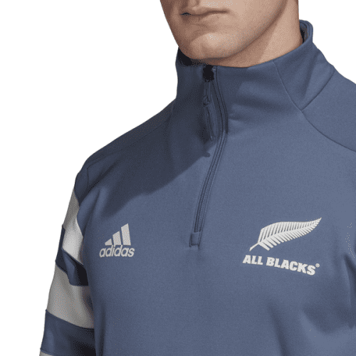 All Blacks Zipper Sweatshirt